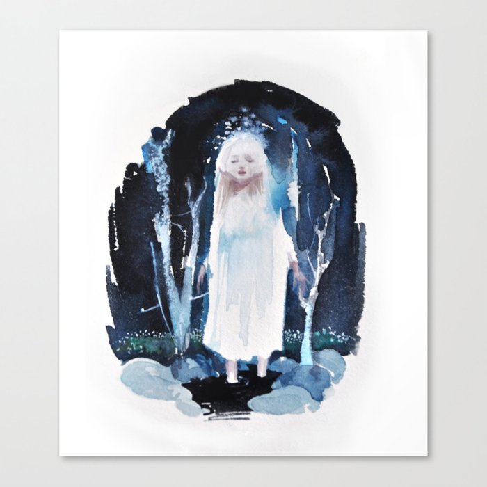 River Spirit Canvas Print