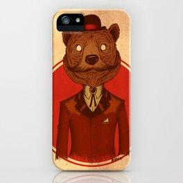 {Bosque Animal} Oso iPhone Case