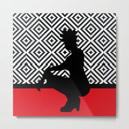 African Woman 4 Metal Print