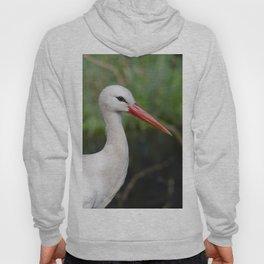 White stork Hoody