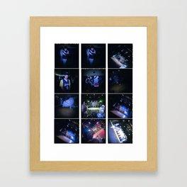 Break 2 Framed Art Print