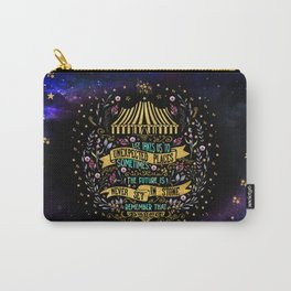 The Night Circus- Unexpected Places Carry-All Pouch
