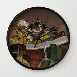 King Jamison Fawkes the First Wall Clock