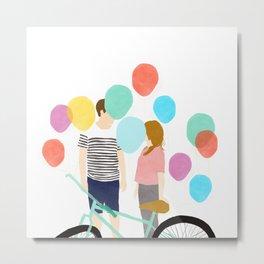 Sweet ballons Metal Print