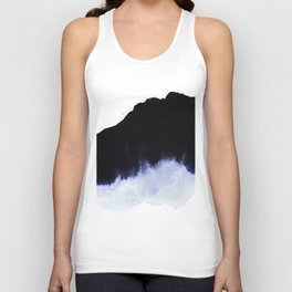 black & blue Unisex Tank Top