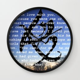 Jace Lightwood Wall Clock
