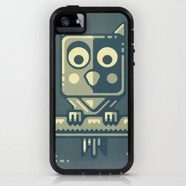 Night owl graphic design iPhone Case