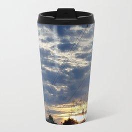 Dark sunset Travel Mug