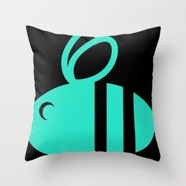 HUMBL BEE PLUM Throw Pillow