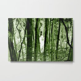 """Ghost in the Aokigahara Fores"" Metal Print"