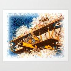 Wings Aloft Art Print