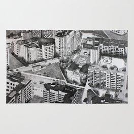 Graphic art, urban, city Rug