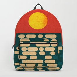 Sun Over The Sea - Afternoon Backpack