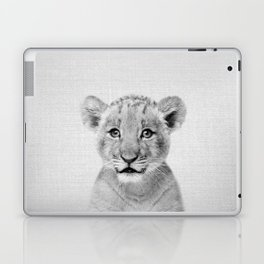 Baby Lion - Black & White Laptop & iPad Skin
