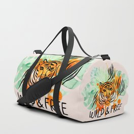Wild and Free Tiger Duffle Bag