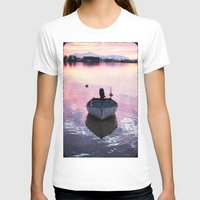 boat T-shirts featuring Boat by Dora Birgis