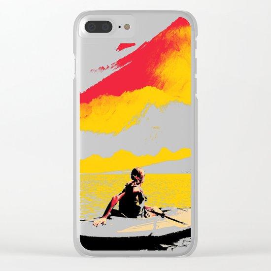 Idyllic Clear iPhone Case