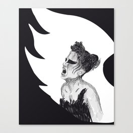 Black Swan III Canvas Print