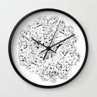 moss Wall Clocks featuring MOSS by AnnaToman