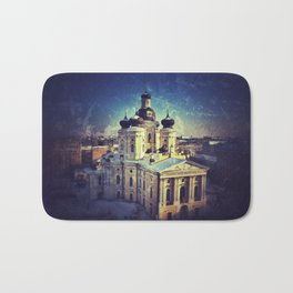 Cathedral At Dawn Bath Mat