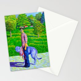 Portrait of Phil and Daniel Stationery Cards