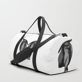 Patience: Figure Drawing Study Duffle Bag