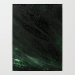 Black & Green Poster