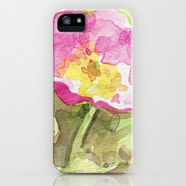 Wild Summer Rose iPhone Case