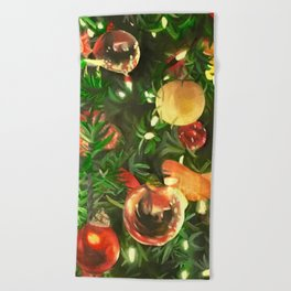 Evergreen Beach Towel