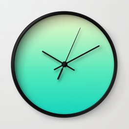 Minimal Gradient Wall Clock