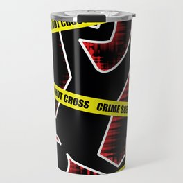 Crime Scene Travel Mug