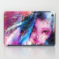 league of legends iPad Cases featuring League of Legends - Jinx by Raditya Giga