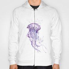 Purple jellyfish Hoody