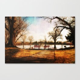 On Golden Pond Canvas Print