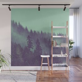 Adventure Awaits Forest Wall Mural