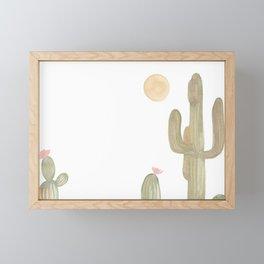 Cacti Framed Mini Art Print
