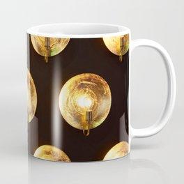 Decorative installation of incandescent lamps Coffee Mug