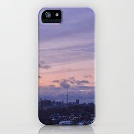 Toronto's City Skyline at Sunrise iPhone Case