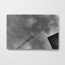 sky canvas Metal Print