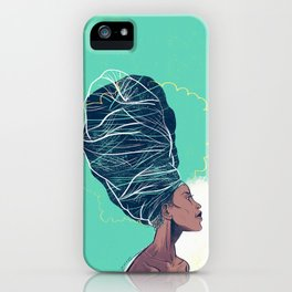 Erykah Badu iPhone Case