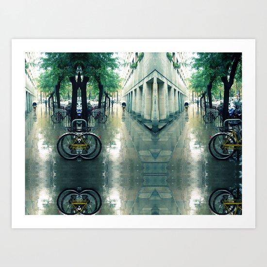 "Wednesday 31 October 2012: ""...never hurt no one..."" Art Print"
