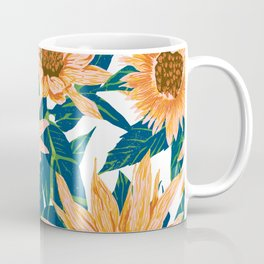 Blush Sunflowers Coffee Mug