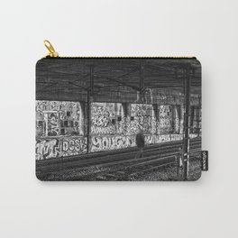 Alone on the rails Carry-All Pouch