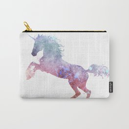 Paint Watercolor Unicorn Carry-All Pouch