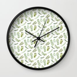 Forest in the Fall Pattern Wall Clock