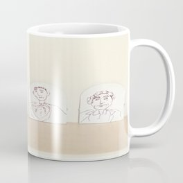 small cardboard tab drawings Coffee Mug