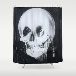 All Is Vanity Charles Allan Gilbert Shower Curtain