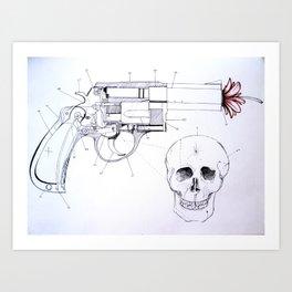 COUNTER PARTS Art Print