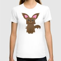 furry T-shirts featuring Furry Kitty by Yay Paul
