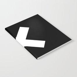 Multiplication Sign (White & Black) Notebook